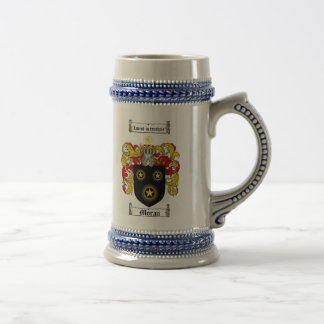 Moran Coat of Arms Stein
