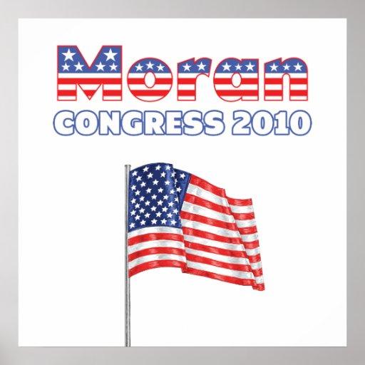 Moran Patriotic American Flag 2010 Elections Print