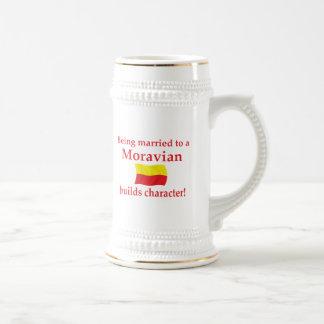 Moravian Builds Character Mug