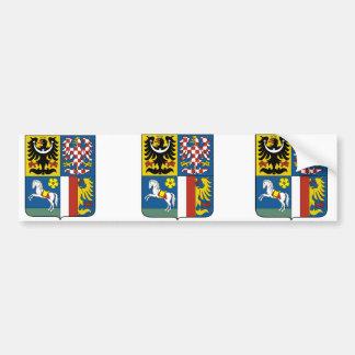 Moravian Silesian Region, Czech Bumper Sticker