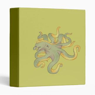 Moray Eel Octopus Vinyl Binders