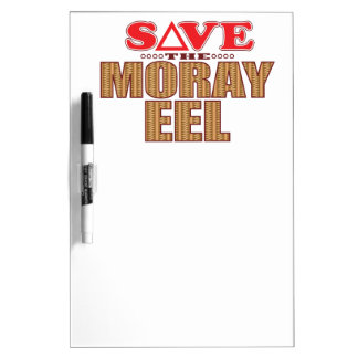 Moray Eel Save Dry-Erase Whiteboard