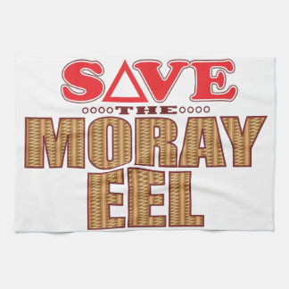 Moray Eel Save Hand Towels