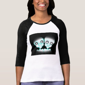 Morbid Alien Twins T-Shirt Womens