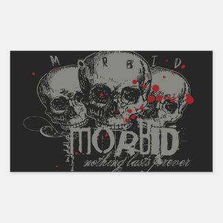 Morbid Sticker