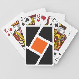 Mordern orange Playing Cards deck