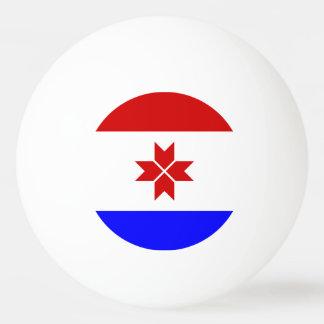 Mordovia Flag Ping Pong Ball