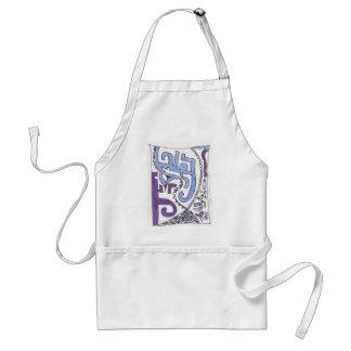 more april doodles standard apron