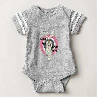 More Art Less War Baby Bodysuit