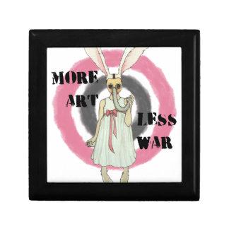 More Art Less War Keepsake Box