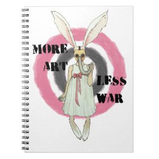 More Art Less War Notebook