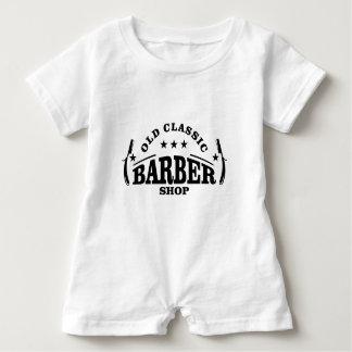 more barber baby romper