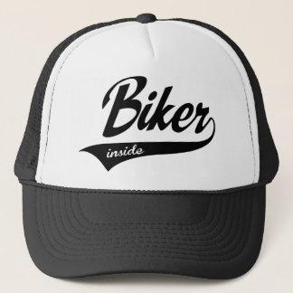 more biker trucker hat