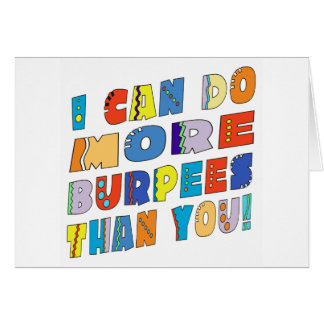 More Burpees Than You Card