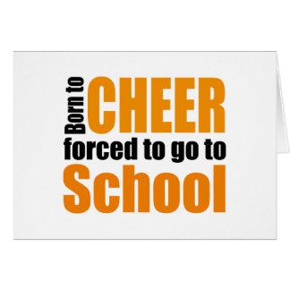 more cheerleader card