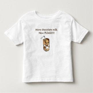 More chocolate milk toddler t-shirt
