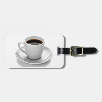 More coffee luggage tag