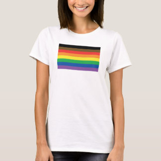 More Color More Pride Rainbow Customizable LGBT T-Shirt