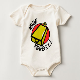 More Cowbell Baby Bodysuit