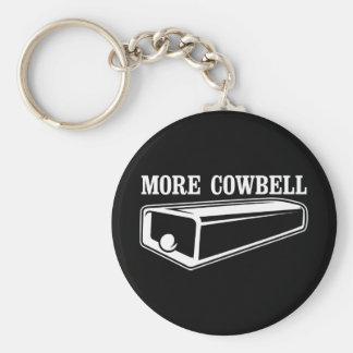 More Cowbell Keychains