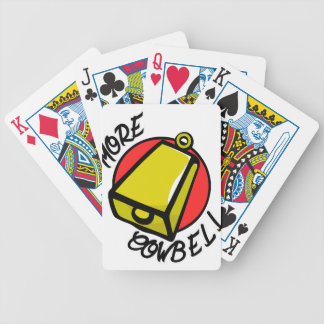 More Cowbell Poker Deck