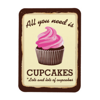 More Cupcakes Magnet