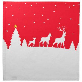 more deer family napkin