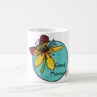 more flower good morning magic mug