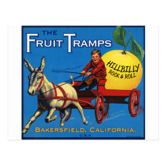 More Fruit Tramp Fun Postcard