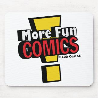 More Fun comics Mousepad
