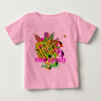 """""""More Guitars"""" Series T-shirt"""
