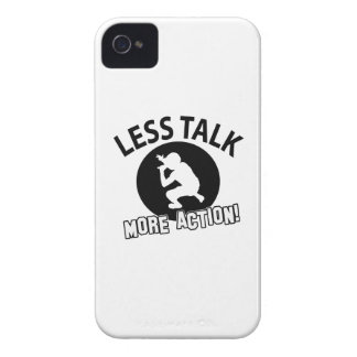 More Hip Hop less talk iPhone 4 Cover