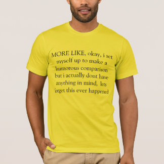 more like T-Shirt
