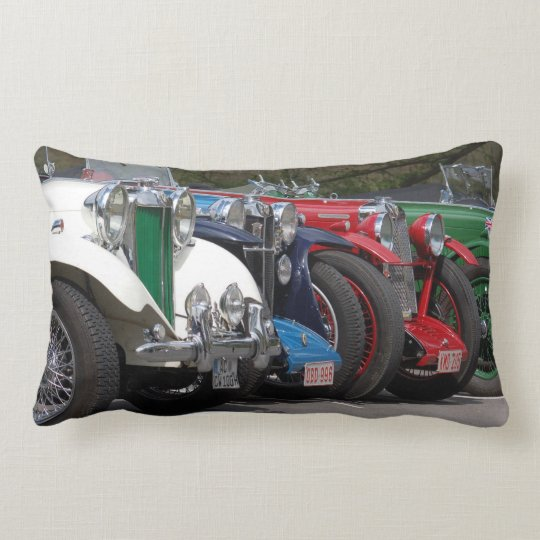 More MG old timer from Great Britain Lumbar Pillow