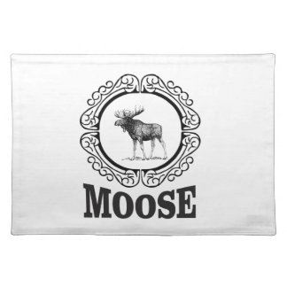 more moose ring placemat