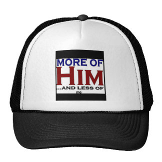 More of Him Mesh Hats