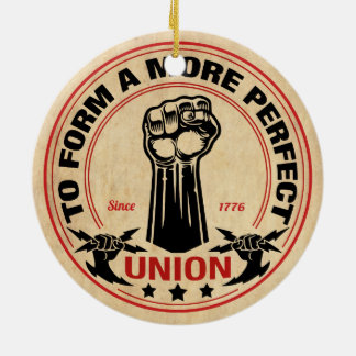 More Perfect Union 1016 Ceramic Ornament