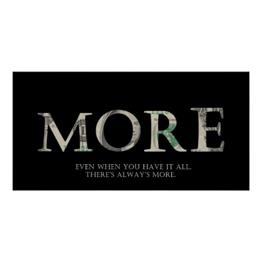 """""""More"""" Poster"""