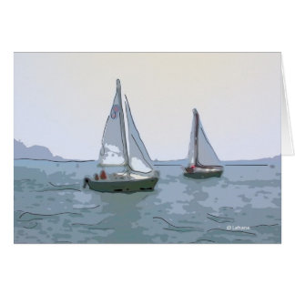 More Sails--blank cards