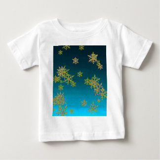 """MORE SNOW""TEAL BLUE ART DESIGN GIFTS BABY T-Shirt"