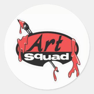 more stickers! classic round sticker