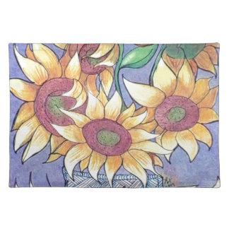 More sunflowers placemat