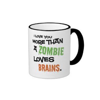 More Than A Zombie Loves Brains Coffee Mug