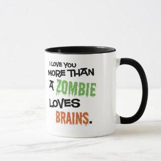 More Than A Zombie Loves Brains Mug