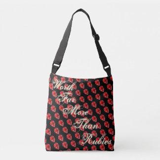 More Than Rubies Crossbody Bag