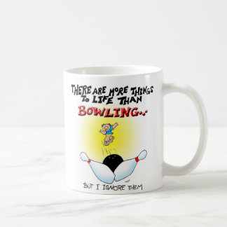 More Things Than Bowling Coffee Mug