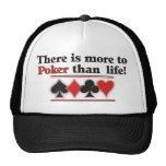 More to Poker Mesh Hats