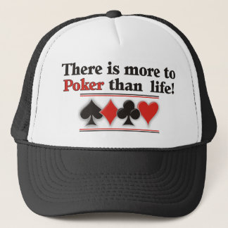More to Poker Trucker Hat