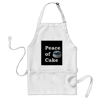 More Zen Anything Sayings - Peace Of Cake Standard Apron