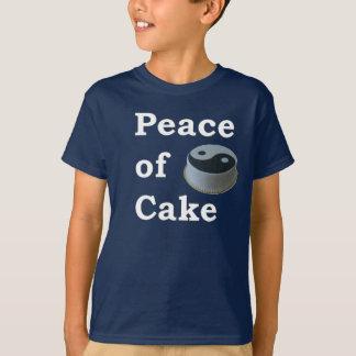 More Zen Anything Sayings - Peace Of Cake T-Shirt